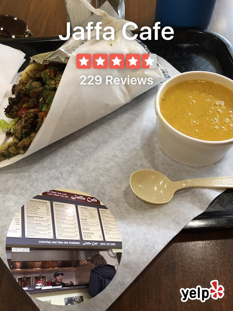 Jaffa Cafe: 206 E Branch St, Arroyo Grande, CA