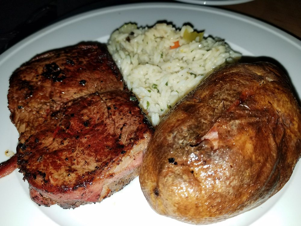 Well done filet mignon - Yelp