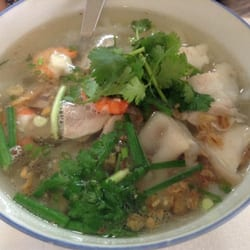 Photo de Quan Ngon , Paris, France. Banh canh (mauvais)