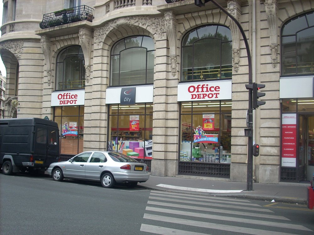 Office depot office equipment 42 bis boulevard richard - Office depot boulevard richard lenoir ...