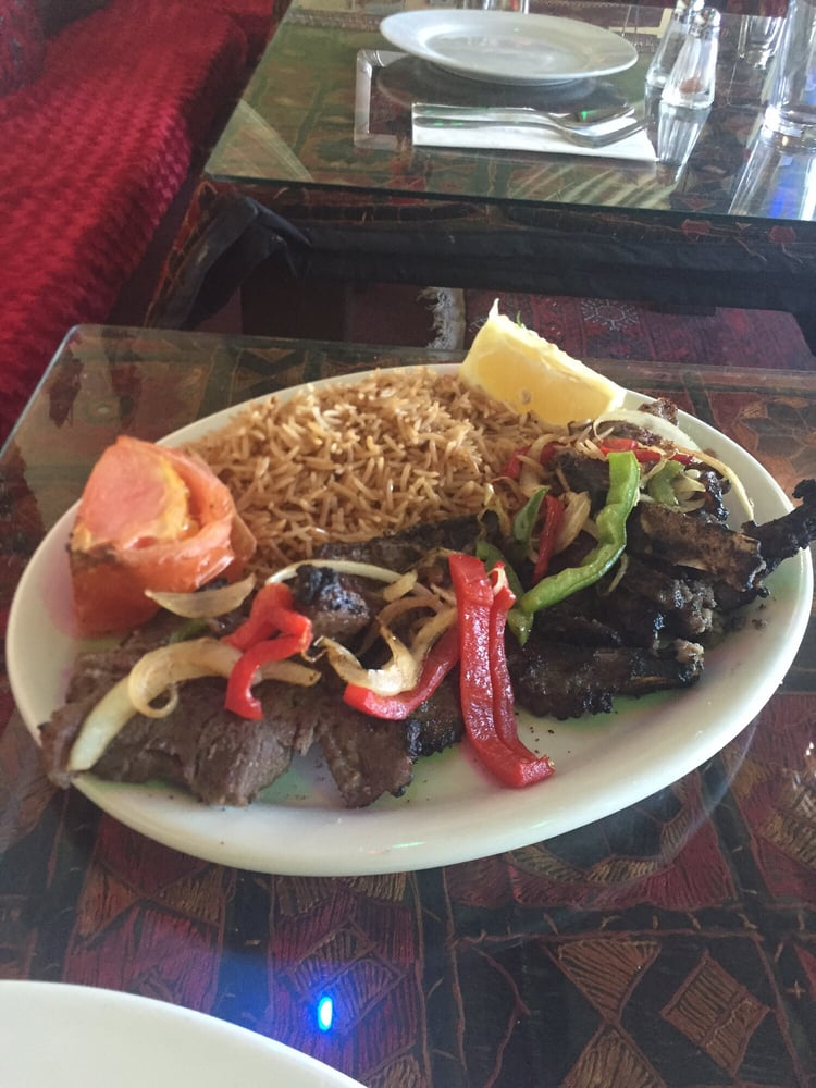 They have the best afghan food the kabobs and bolani is for Afghan kabob cuisine