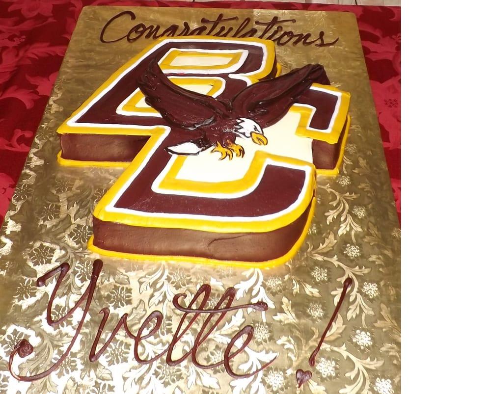 Graduation Cake Boston College Yelp