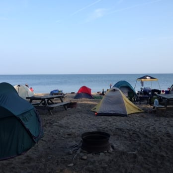Photo Of Sara S Campground Erie Pa United States View From The Parking