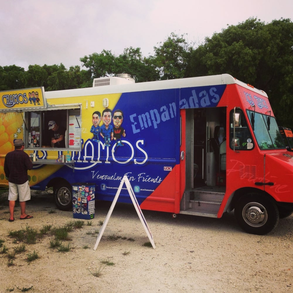 Los Chamos Food Truck Miami