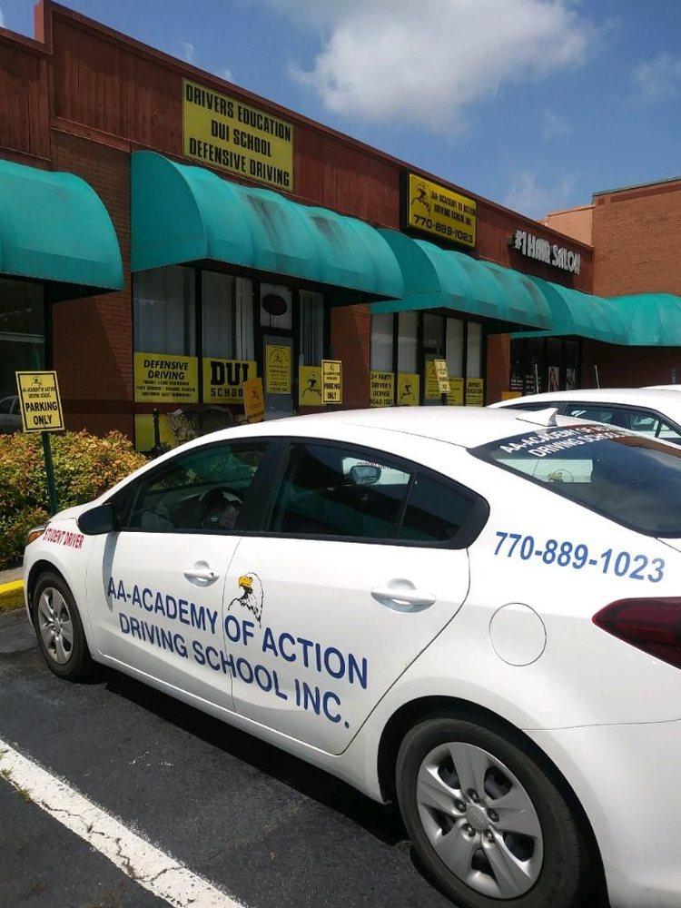 AA Academy of Action Driving School: 432 Canton Rd, Cumming, GA