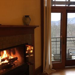 Photo Of Sourwood Inn   Asheville, NC, United States. Complimentary  Firewood Daily