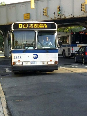 MTA - Q10 Bus Queens, NY - MapQuest Q Bus Map on