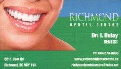 Richmond Dental Centre - General Dentistry - 8211 Cook Road