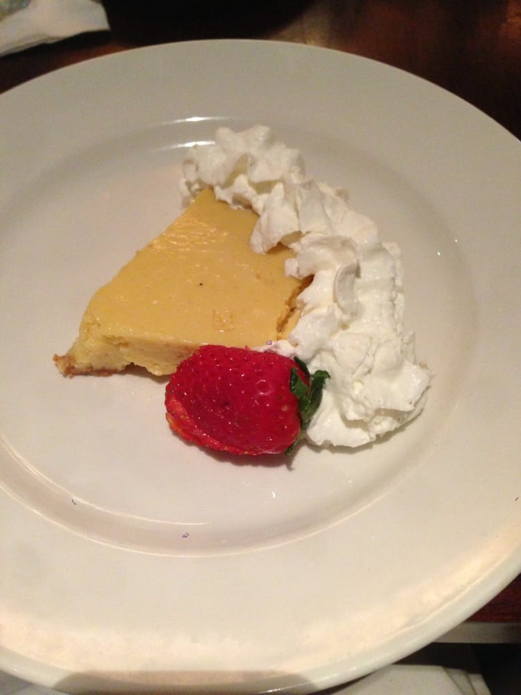 Key lime pie 1 of 3 choices of desserts included in the for Big fish dearborn mi