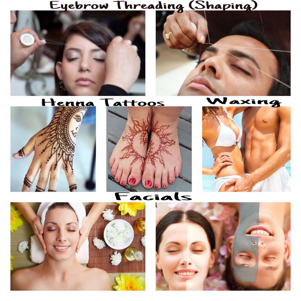 a & a Eyebrow Threading, Waxing, Facials & Henna Tattoos: 387 W Lincoln Hwy, Penndel, PA