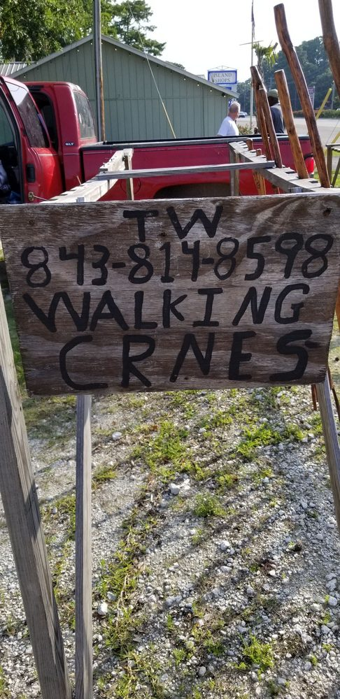 Walking Canes by Thomas Williams: 452 Dupre Rd, McClellanville, SC