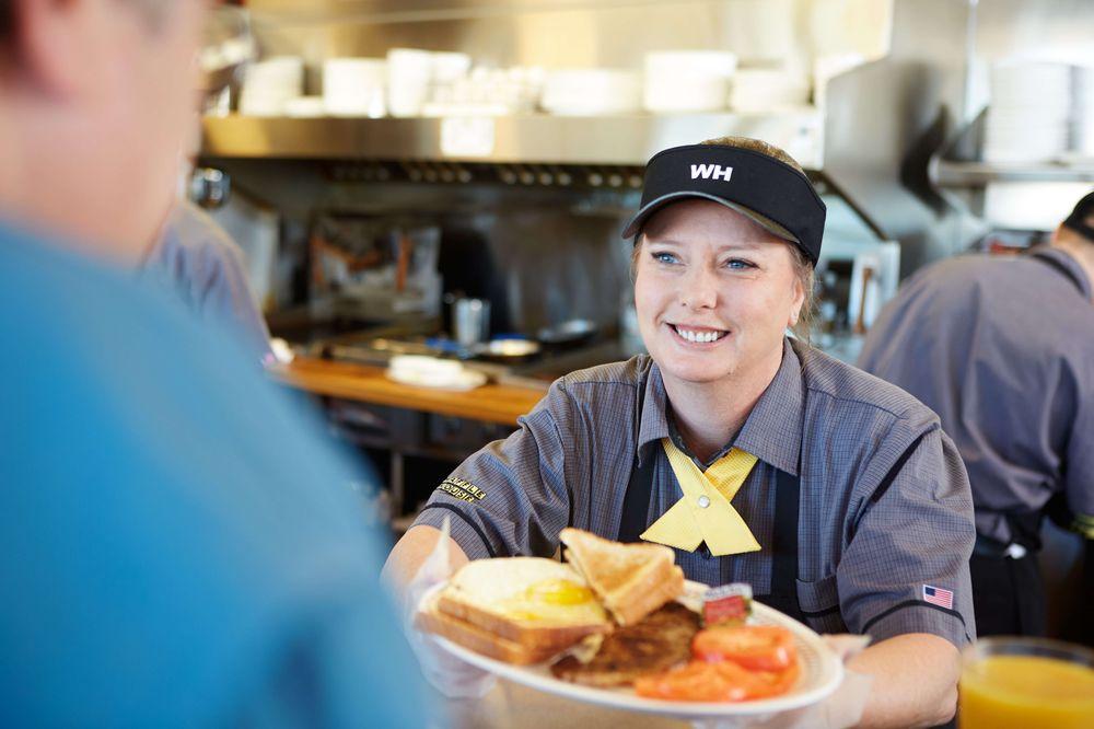 Waffle House: 8354 I-10 Service Rd, Irvington, AL