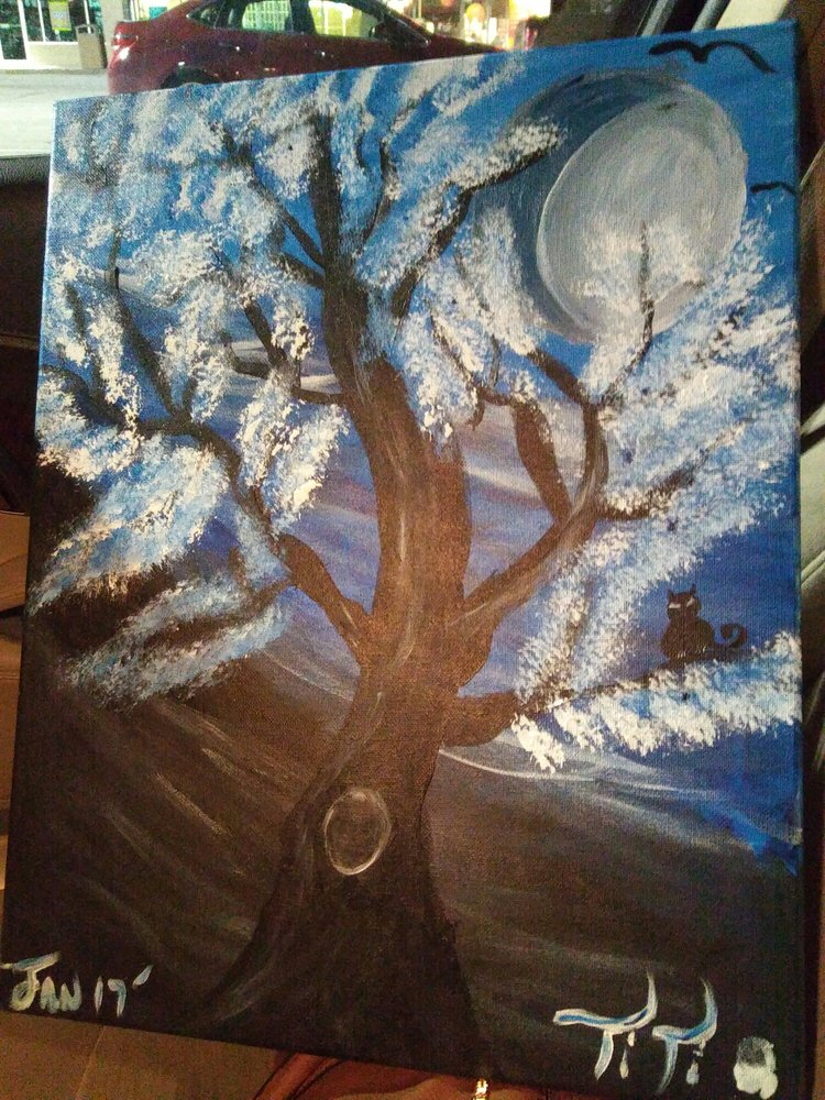 Painting with a twist paint sip 17155 silver pkwy for Painting with a twist fenton mi