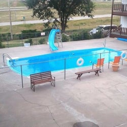 Photo Of Dakota Motel Kadoka Sd United States Pool Has Been Repainted