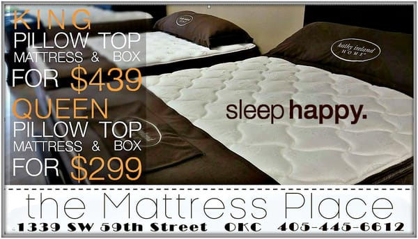 The Mattress Place 1339 Sw 59th St Oklahoma City Ok Mattresses Mapquest