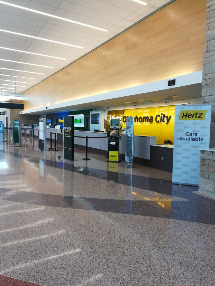 Will Rogers World Airport Car Rental Center