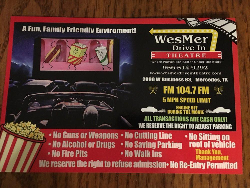 Wes-Mer Drive Inn: 2090 W Business 83, Mercedes, TX