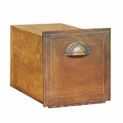 photo of locking mailboxes paradise ca united states solid brass column mailbox - Locking Mailboxes