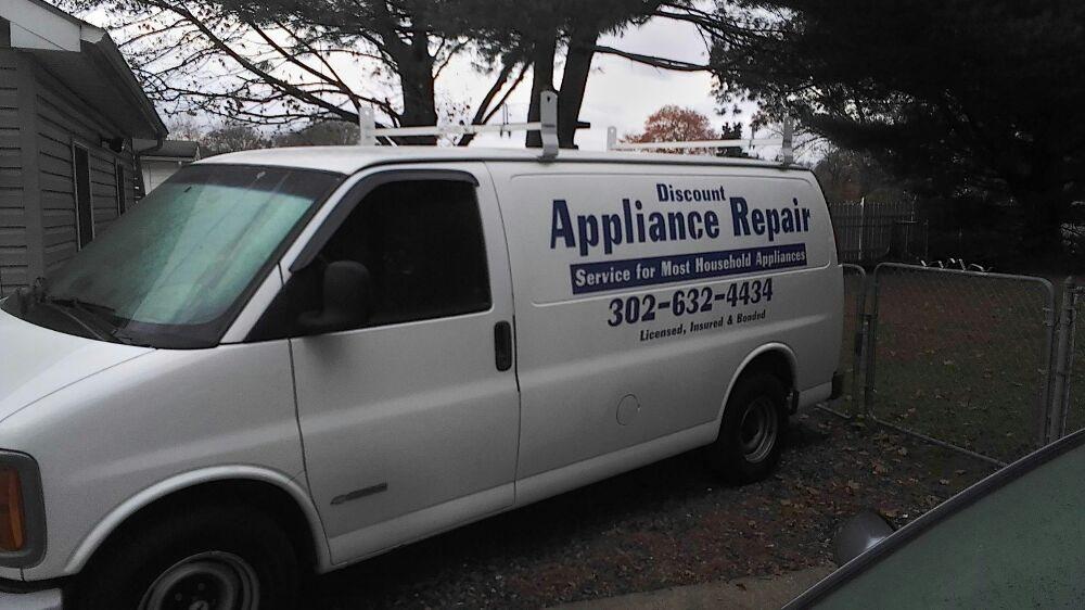 Discount Appliance Repair: Felton, DE