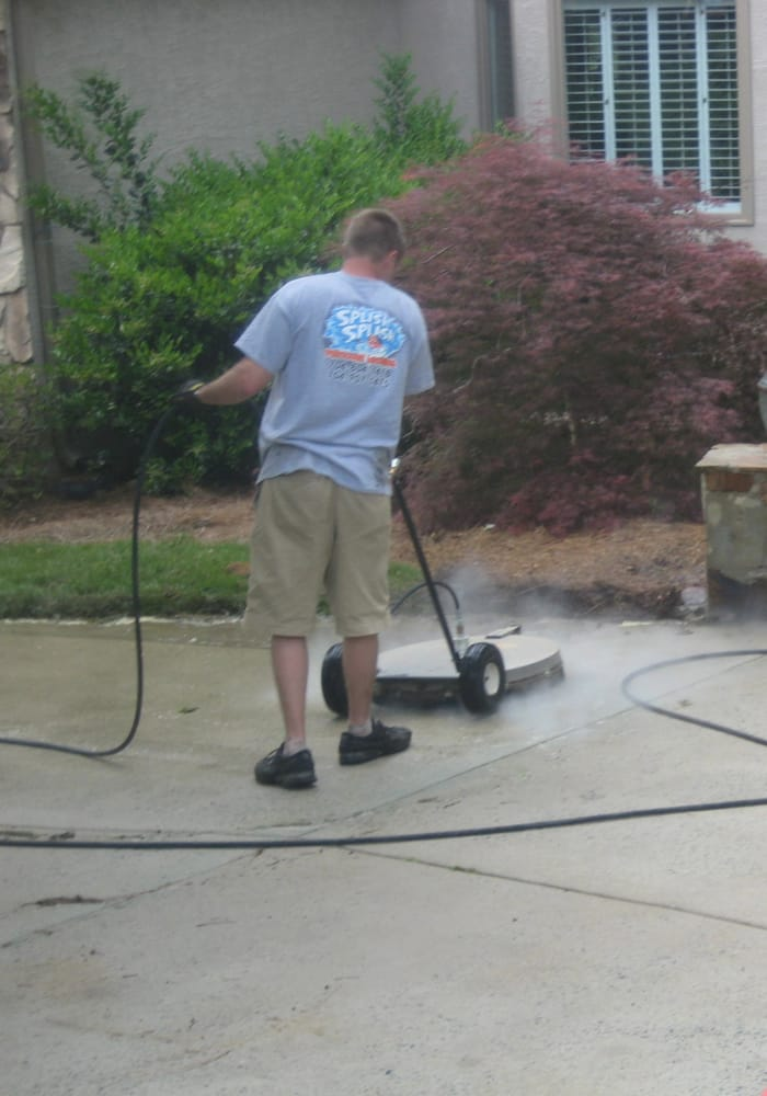 The big guy concrete and surface cleaner yelp for Cement pressure washer