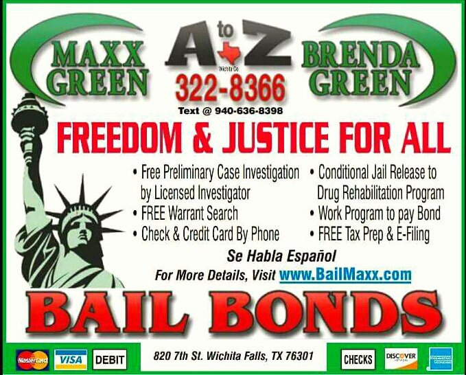 Bonds Bail Brenda Green - Request a Quote - Notaries - 820 7th St