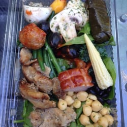 Greenday salad do it yourself food 1050 w pender street photo of greenday salad vancouver bc canada bit of everything salad solutioingenieria Gallery