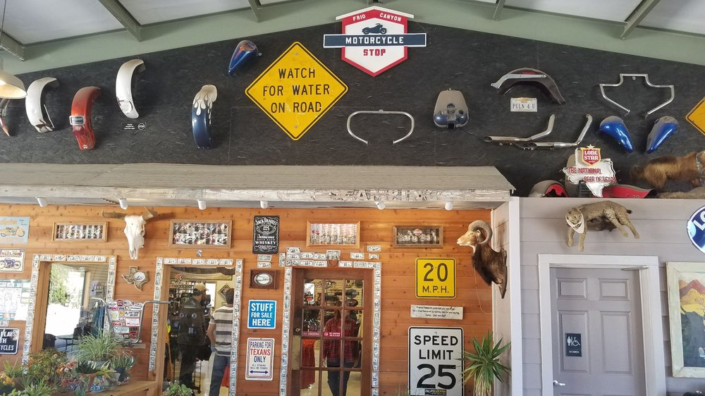 Frio Canyon Motorcycle Stop: 657 W Ranch Rd 337, Leakey, TX