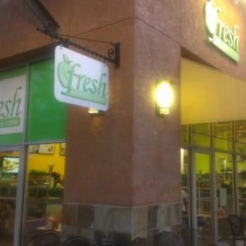 Fresh Healthy Cafe Wiregrass Menu