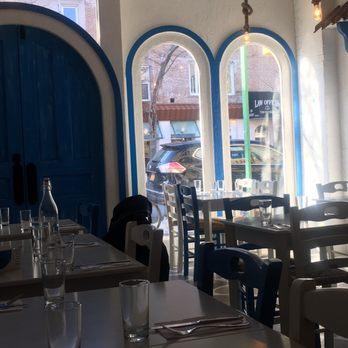 Photo Of Blue Door Souvlakia   Brooklyn, NY, United States. Blue Door