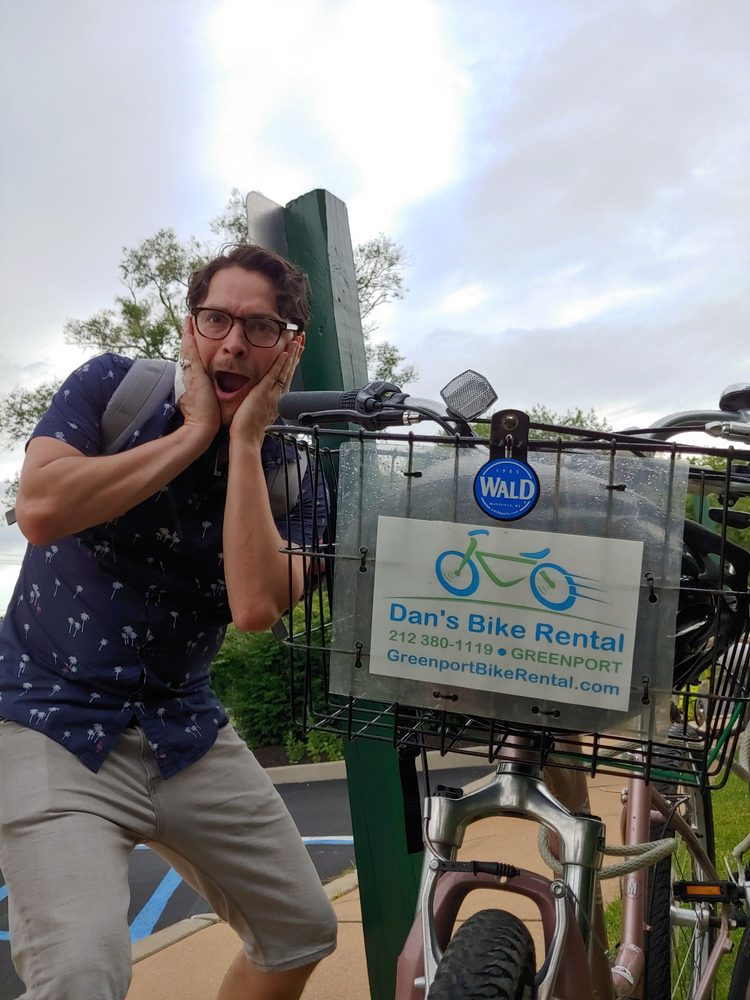 Dan's Bike Rental: Greenport, NY