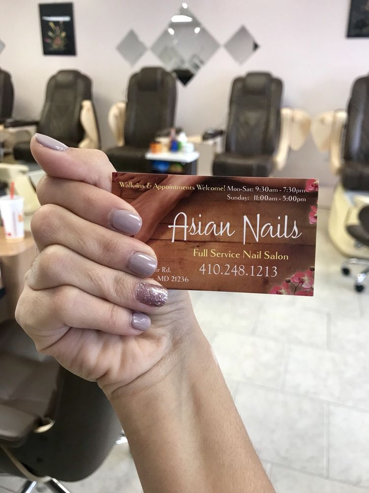 Asian Nails - Nail Salons - 8839 Belair Rd, Nottingham, MD - Phone ...