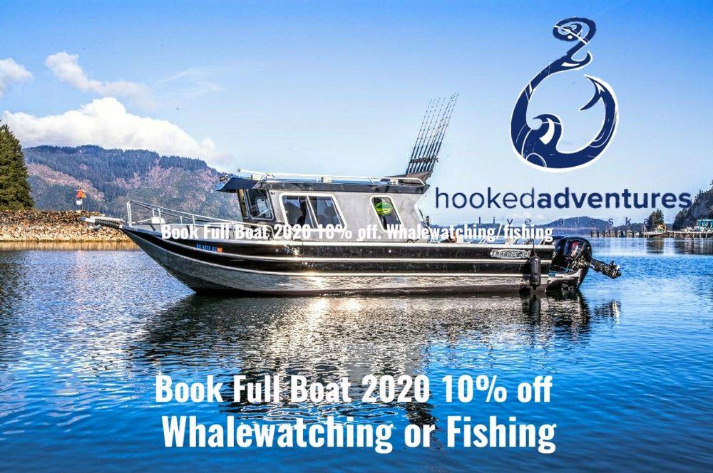 Hooked Adventures: 1 Harbor Way, Hoonah, AK