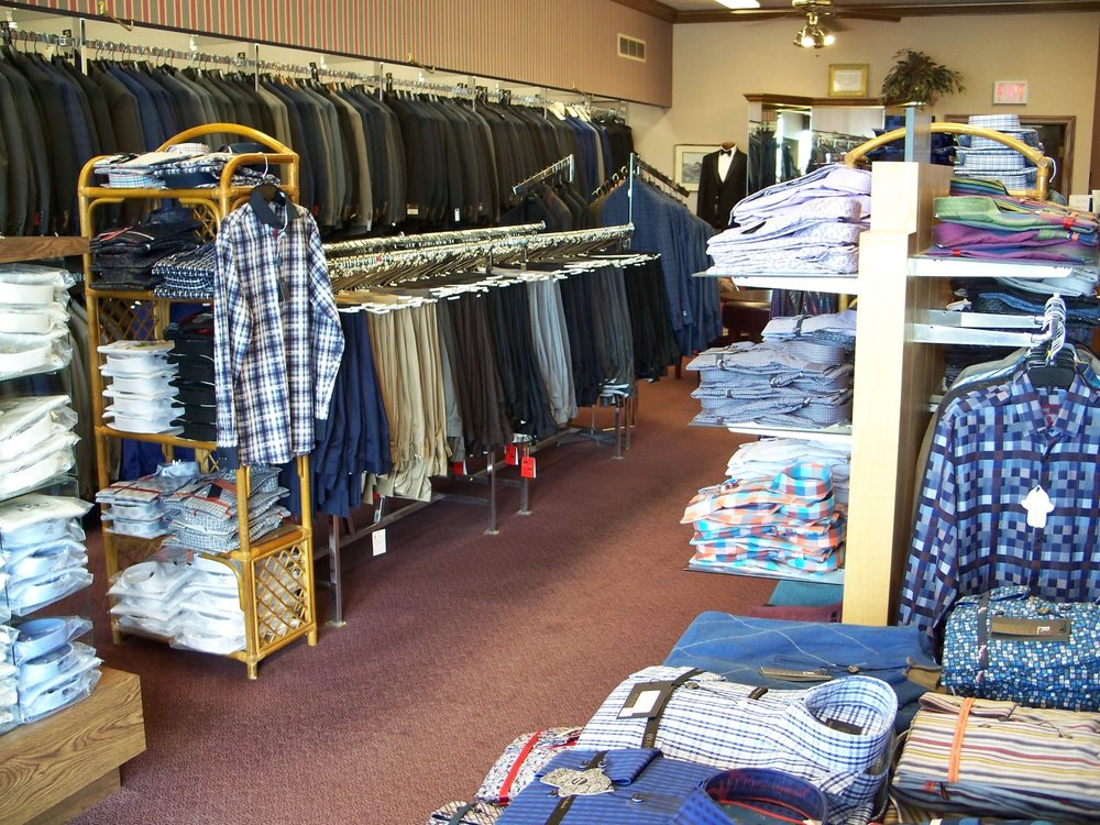 Adam's Mens Clothier: 4597 Belden Village St NW, Canton, OH
