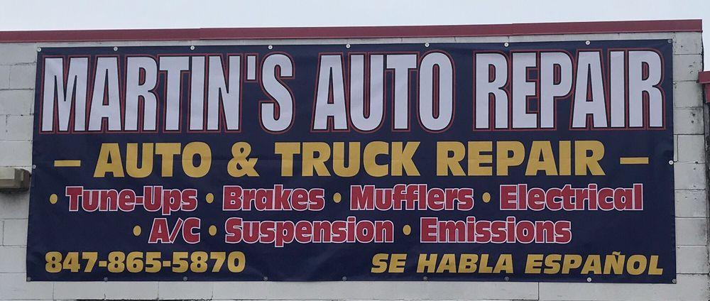 Martin Auto Repair: 229 W State Rd, Island Lake, IL