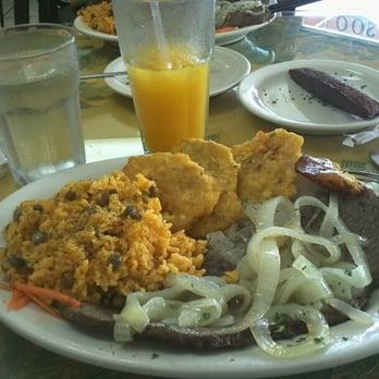 Old San Juan Restaurant Miami Menu
