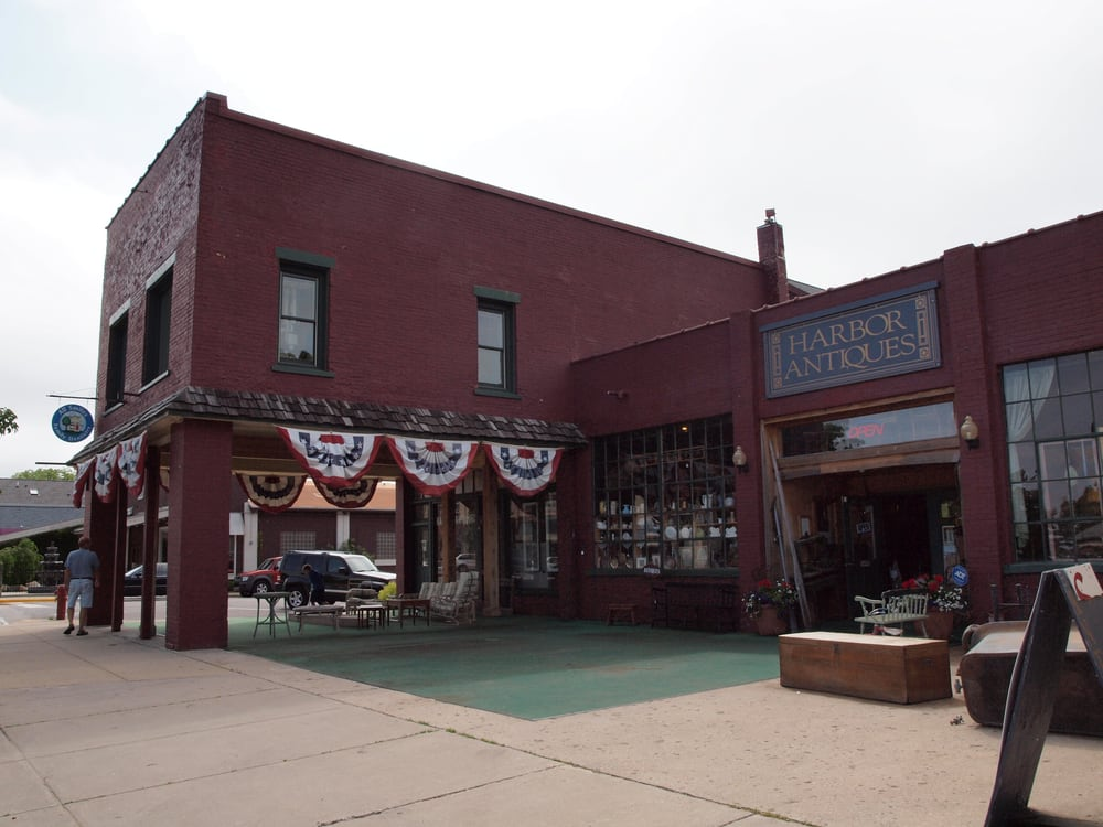 Harbor Antiques: 201 River St, Elk Rapids, MI