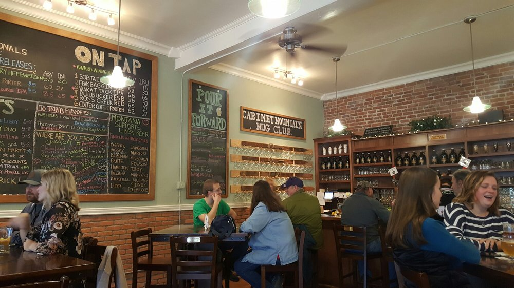 Cabinet Mountain Brewing Company: 206 Mineral Ave, Libby, MT