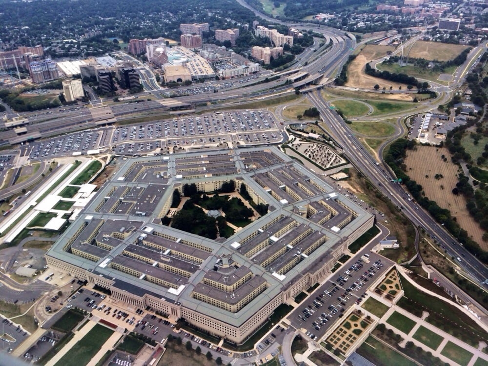 United states pentagon police stations