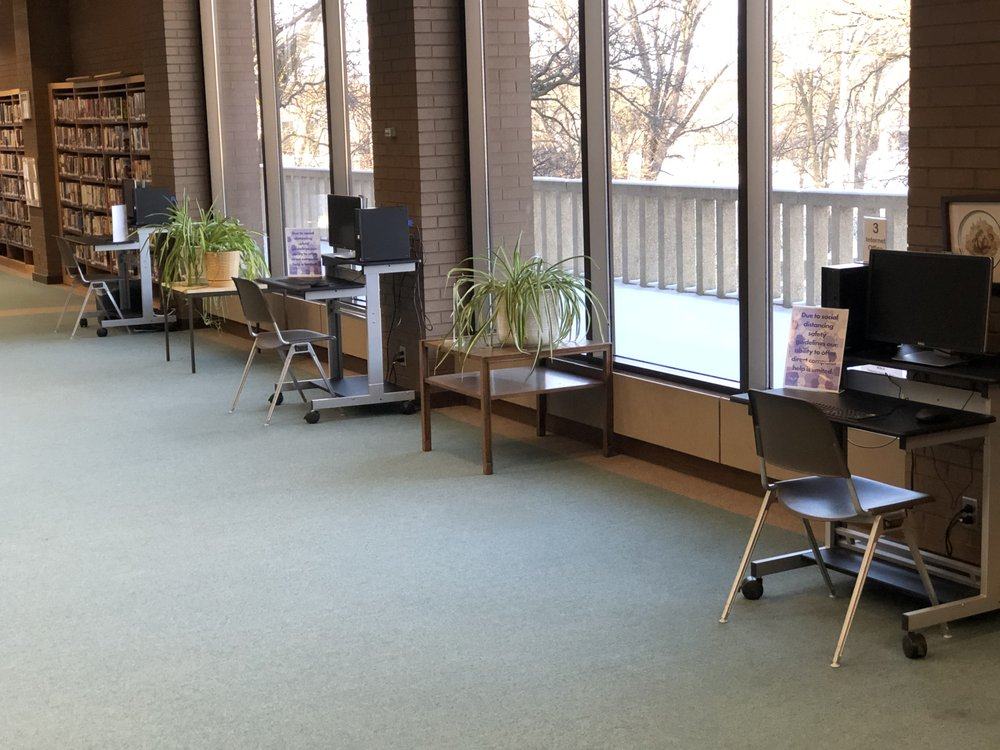 McMillan Memorial Library: 490 E Grand Ave, Wisconsin Rapids, WI