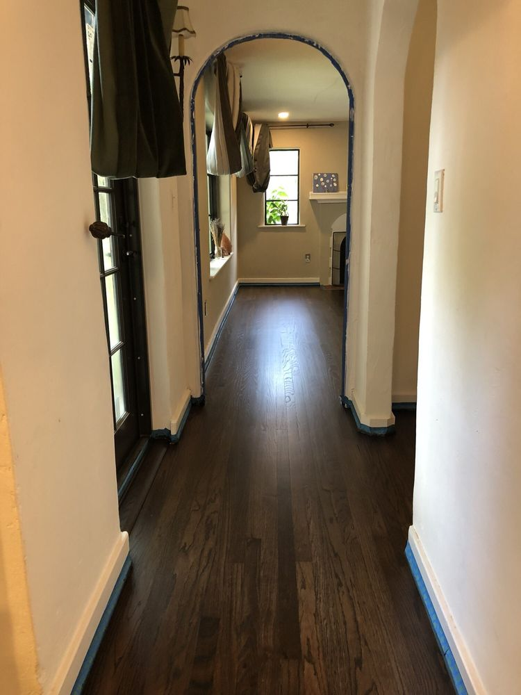 Red Fine Hardwood Floors