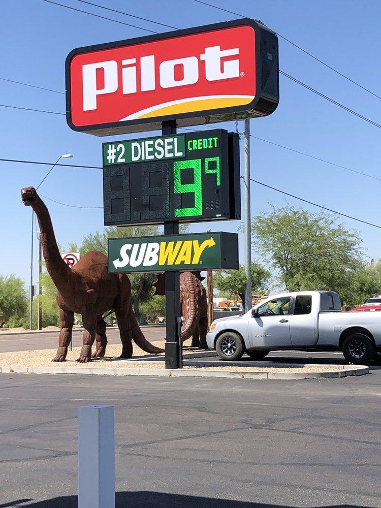 Pilot Travel Center: 942 E Pima Rd, Gila Bend, AZ