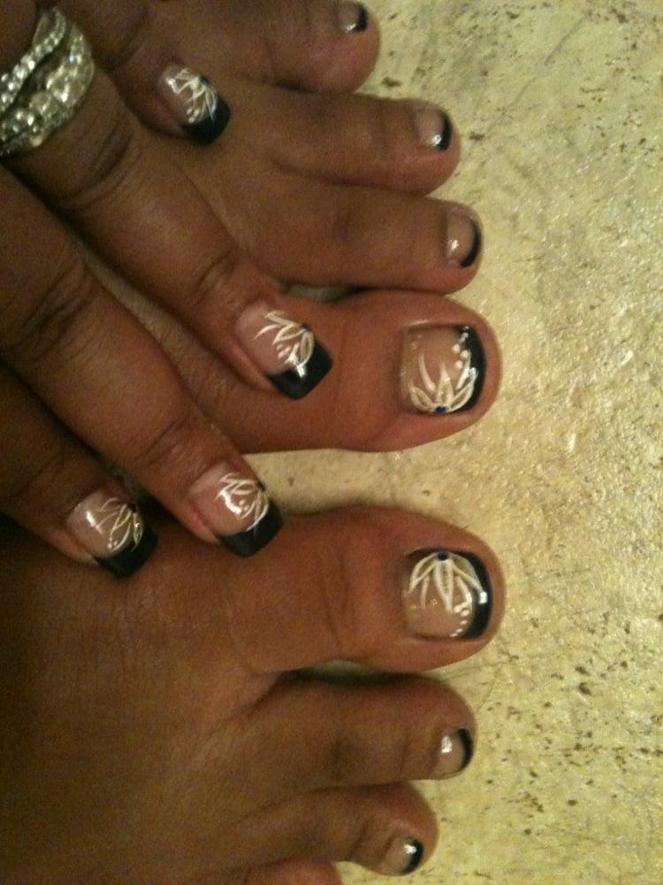 matching acrylic nails & toes!! - Yelp
