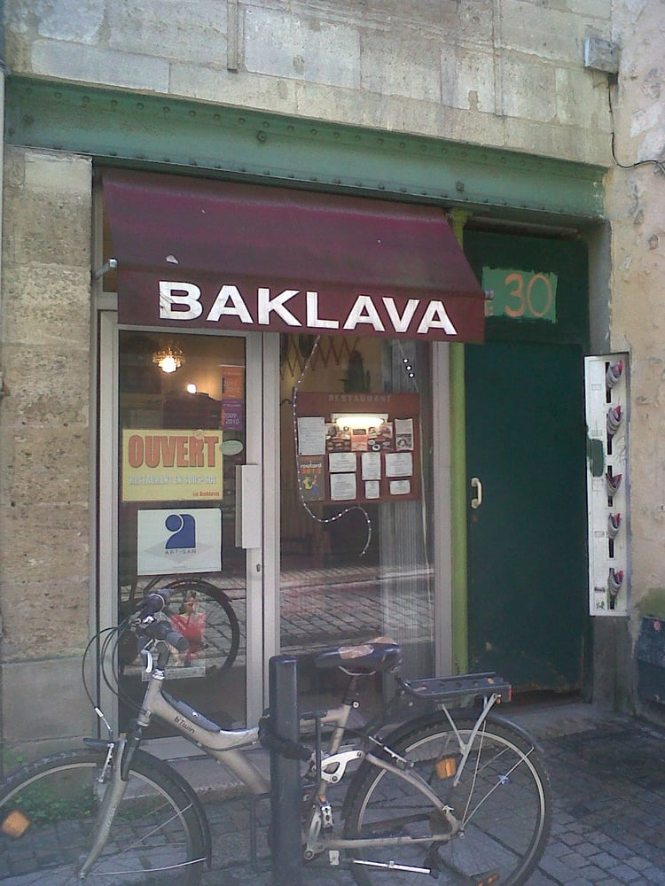 Baklava 10 avis boulanger p tissier 30 rue buhan for Hotel rue lafaurie monbadon bordeaux