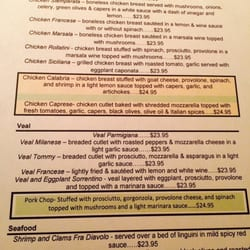 Cantina Cafe Middletown Menu