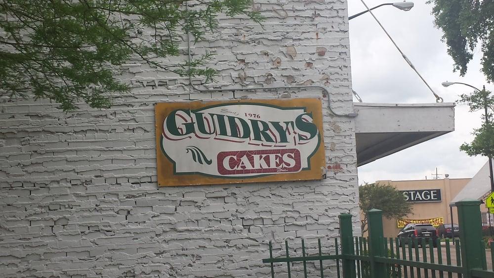 Guidrys Cake New Iberia