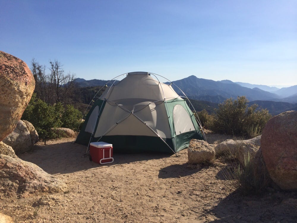 Our 4th of july campsite beautiful view yelp for Camping cabins near los angeles