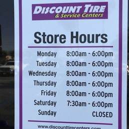 Discount Tire Hours Sunday >> Photos For Discount Tire Centers Yelp