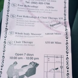 Rivini Foot Reflexology Long Beach Ca
