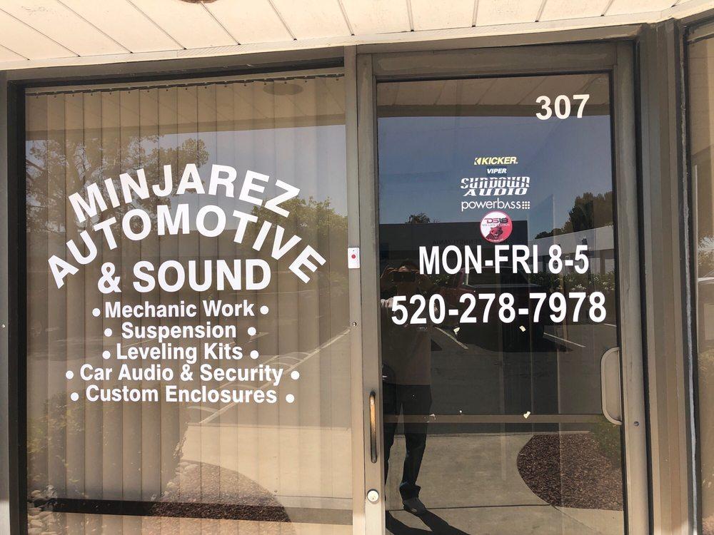 Minjarez Automotive and Sound