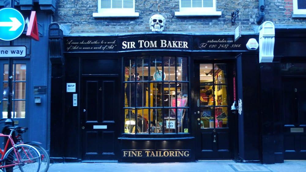 b882501f16bf4 Sir Tom Baker (Bespoke Tailoring) Ltd - Yelp